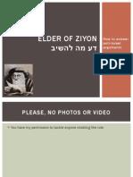 """""""How to answer anti-Israel slurs"""" EoZ talk at YU 1/29/13"""
