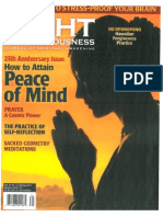 Spring 2013 issue of Light of Consciousness magazine features excerpt from THE POWER OF THE NEW SPIRITUALITY by William Bloom