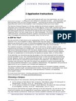 SSP aplication