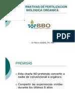 Alternativas Fertilizacion Biologica Organiza