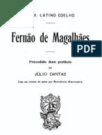 Fernão de Magalhães, por Latino Coelho