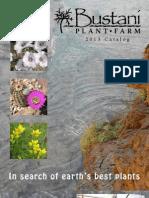Bustani Plant Farm 2013 Catalog