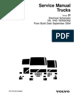 [TVPR_3874]  VOLVO VNL DIAGRAMAS ELECTRICOS COMPLETOS.pdf | Truck | Transmission  (Mechanics) | 2000 Volvo Truck Wiring Diagram |  | Scribd