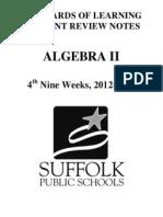 algebra 2 crns 12-13 4th nine weeks