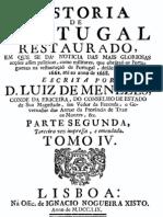História de Portugal restaurado, pelo Conde da Ericeira, vol. 4
