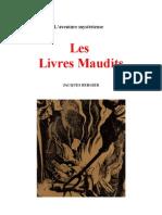 Bergier Jacques - Les Livres Maudits