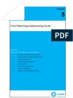 SAP HR Time Management Troubleshooting