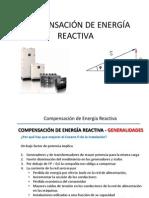 COMPENSACIÓN DE ENERGÍA REACTIVA