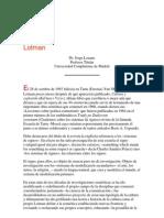Lozano, J- Cultura y explosión en la obra de Lotman