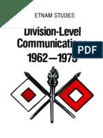 Vietnam Studies Division-Level Communications 1962-1973