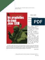 Carpi Pier - Les prophéties du Pape Jean XXIII