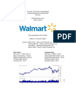 Walmart Analyst Report