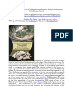 Chapple, R. M. 2012 'Archaeological Excavations at Tullahedy County Tipperary. Neolithic Settlement in North Munster- Review' Blogspot post