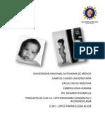 Tarea Embrio CC. Hipotiroidismo y Acondroplasia 2 Bloque