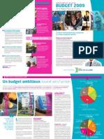 Pays de la Loire. Le budget 2009