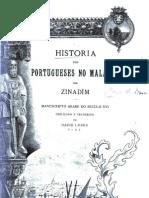 Historia dos Portugueses no Malabar