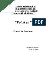 Proiect de Finantare!Mari