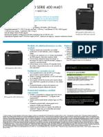 LaserJet Pro 400 Printer M401 Series