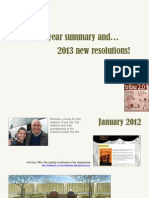 2012 Summary