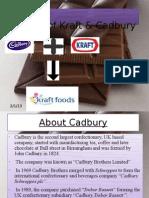 Merger of kraft & Cadbury