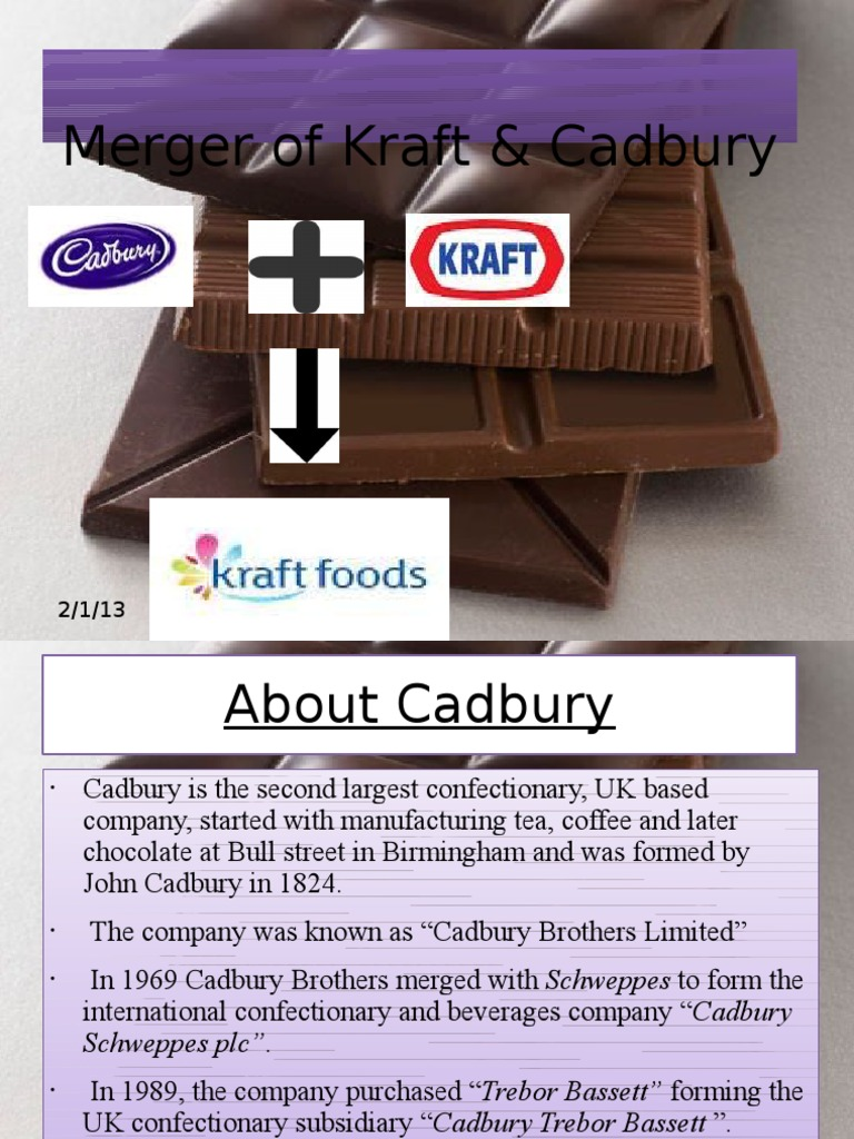 kraft and cadbury merger