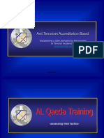 Al qaeda tactics and training