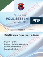 Analiza e policise per 2012