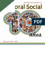 10 años de la Pastoral Social de la Diócesis de Carabayllo