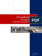 Drive Works x Press Hydraulic Cylinder Setup