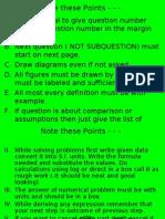 Physics Paper I Board Revision 2008 - 09