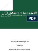 Wharton Casebook 2005 for Case Interview Practice | MasterTheCase