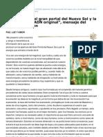 Hermandadblanca.org-La Apertura Del Gran Portal Del Nuevo Sol y La Activacin Del ADN Original Mensaje Del Maestro Hilarin