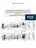30412497 Los Principios Procesales y El Titulo Preliminar Del Codigo Procesal Civil Peruano Material de Ensenanza