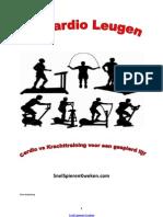 De Cardio Leugen, cardio vs krachttraining voor een gespierd lijf