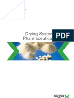 Drying systems for pharmaceutical industry
