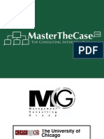 Chicago Casebook 2004 for Case Interview Practice | MasterTheCase