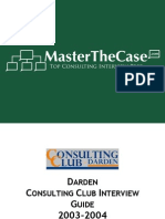 Darden Casebook 2004 for Case Interview Practice | MasterTheCase