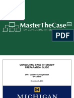 Ross Casebook 2006 for Case Interview Practice | MasterTheCase