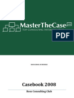 Ross Casebook 2008 for Case Interview Practice | MasterTheCase
