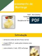 Processamento da Manteiga e Sorvetes (Aula)