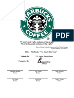 starbucks strategy rbv analysis A resource-based approach to performance topics in strategy research finding the appropriate unit of analysis most contributions within the rbv take the.
