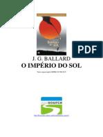 O império do Sol - J G Ballard