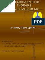 PEMERIKSAAN FISIK TORAKOVASKULER