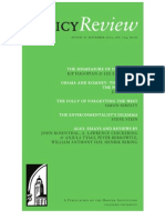 Policy Review - August & September 2012, No. 174