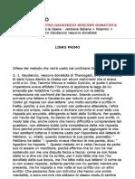 Sant'Agostino - Contro Gaudenzio vescovo donatista (ITA)