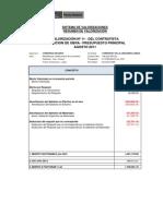 VAC 11 Contractual - Ago 11