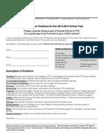 pta board position flyer2013