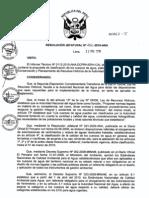 Resolución jefatutal 202-2010-ANA