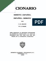 Diccionario Miskito EspanolCGH W1953