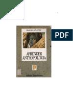 Livro - Aprender Antropologia